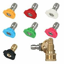 Styddi Pressure Washer Spray Nozzle Tips And Quick Connect Pivot Adapter Coup