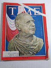 Time Magazine- July 1, 1966- De Gaulle