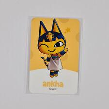 Amiibo NFC Karte Animal Crossing Kleo / Ankha 188 Switch Lite 3DS