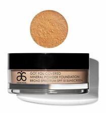 Arbonne Got You Covered Mineral Powder Foundation Spf 15 Sunscreen, Almond #6627