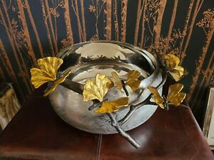 Michael Aram Butterfly Gingko Large  Bowl  !  Msrp $450