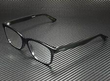 GUCCI GG0162Oa 001 Rectangular Square Black Demo Lens 55 mm Unisex Eyeglasses