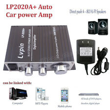 Lvpin Tripath Class-T Hi-Fi Audio Mini Amplifier With 12V Power Supply LP-2020A+