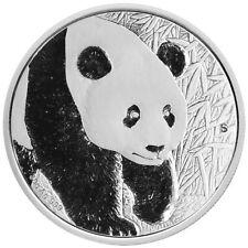 China 2017 - Panda ANA Münzmesse Denver - 30 gr. Silber PP