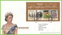 G.B. 2012 House of Windsor m/s Royal Mail First Day Cover Tallents House
