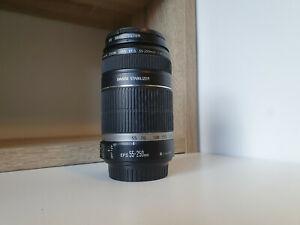 Canon EF-S 55-250mm IS lens + UV Filter EXCELLENT CONDITION