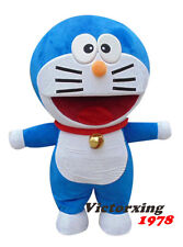 Japanese Animation Doraemon Mascot Costume  Free Shipping