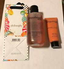 Philosophy  6-fl oz Gingerbread Man Shower Gel & 1-fl oz Hand Cream & Gift Bag