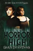 Grave Intentions (Horror High),Stine, R.L.,Very Good Book mon0000043536