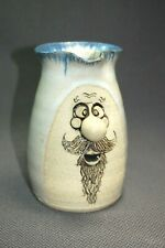 Stoneware 3D FACE Pitcher Handcrafted Pottery