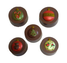 Ornaments Oreo Cookie Chocolate Mould / Soap Mould / Christmas Mould