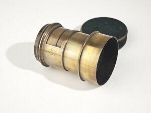 Ross London Petzval Brass Lens - Serial 13409