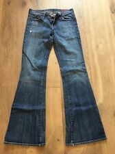 Citizens Of Humanity Blue Jeans Ingrid Stretch #002 Low Waist Flair Leg Size 25