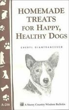 Homemade Treats for Happy, Healthy Dogs Book~All-Natural Biscuits & More~NEW