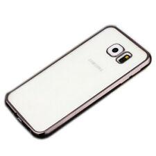 Premium TPU Schutzhülle Schwarz für Samsung Galaxy S7 Edge G935 G935F Tasche Neu