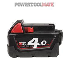 Milwaukee M18B4 18v 4ah li-ion red battery *UK - Genuine Stock*