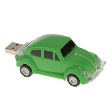 USB 2.0 Green Beetle Car Flash Memory Stick Pen Drive Storage U Disk 16GB