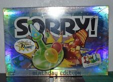 Sorry! Birthday Edition New Sealed Board Game 2004 Celebrating 70 Years of Sorry