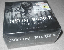 Justin Bieber Purpose CD Fan Box Set - Great Deal!!!! Shirt Not Tour