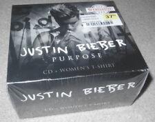 Justin Bieber Purpose CD Fan Box Set - Great Deal!!!! Shirt Not Tour