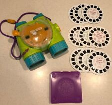 VTG 1998 Scooby Doo Fisher Price View Master And Binoculars + 3 Movies 9 Discs