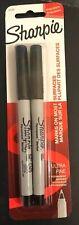 Sharpie Permanent Markers Ultra Fine Black 2 ct 37161
