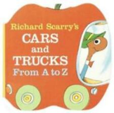 A Chunky Book(R): Cars and Trucks from A to Z by Richard Scarry (1990, Board...