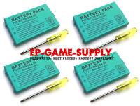 4X Rechargeable Battery Pack For Nintendo Gameboy Advance SP 850mAh 3.7V