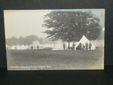 Military - West Kent (Queens Own) Imp. Yeomanry Camp Langton 1906 - r/p