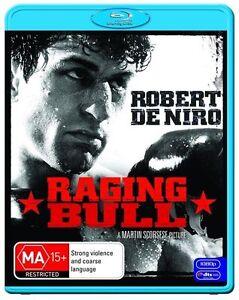 Raging Bull (Blu-ray 2010) Robert De Niro NEW FREE POST