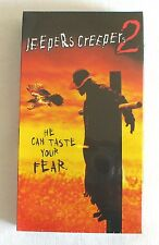 Jeepers Creepers 2 VHS 2003 rare horror Ray Wise Jonathan Breck Justin Long NEW