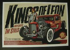 KINGS OF LEON SYDNEY 2009 POSTER CD KEN TAYLOR 18/3/09