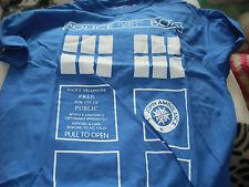 Doctor Who Tardis Camiseta De Gran Tamaño