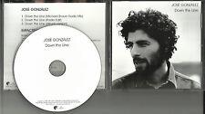 Junip JOSE GONZALEZ Down The Line w/ RARE MIX & EDIT PROMO DJ CD Single 2007 USA