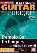 Bibliothèque de lécher les techniques de guitare ultime Tremelo bar apprendre à jouer vibrato DVD