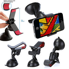 Windscreen Suction Cup 360° Rotating Smart Phone Car Mount Grip Holder LG Nexus 5x