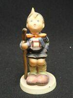 FABULOUS HUMMEL GOEBEL LITTLE HIKER FIGURINE 16 2/0 TMK3 * W. GERMANY