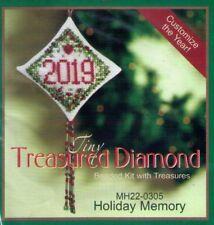 Christmas Holiday Memory Mill Hill Treasure Diamond Kit