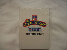 1989 Pro Set Football cards Final Update 21 cards
