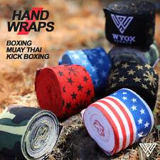 Handwraps Boxing Kickboxing Muay Thai MMA wraps bandages 180 inch Cotton PAIR