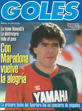 DIEGO MARADONA in Newell´s Old Boys Goles magazine 1993