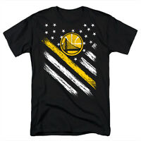 Golden State Warriors Flag Jersey Men's T Shirt