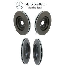 NEW Mercedes W164 ML320 GL450 Kit of 2 Front & 2 Rear Disc Brake Rotors Genuine