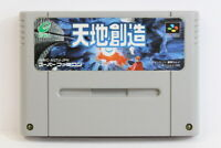 Tenchi Souzou Terranigma SFC Nintendo Super Famicom SNES Japan Import US Seller