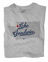 Lake Goodwin Washington WA Wash T-Shirt MAP
