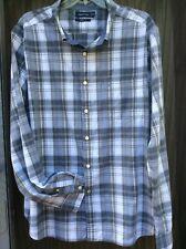 New Nautica Men's Shirt 2XL Long Sleeve Button Down 100% Cotton Plaid.