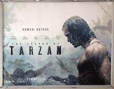 Cinema Poster: LEGEND OF TARZAN, THE 2016 (Advance Quad) Alexander Skarsgård