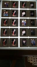 THE YOUNG AND RESTLESS SOAP OPERA CAST LOT OF 35MM SLIDE TRANSPARENCY PHOTO