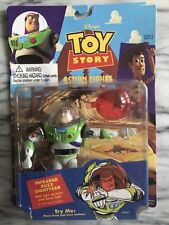 TOY STORY INFRARED BUZZ LIGHTYEAR W LIGHT UP LASER, DOME LIGHT - 1995