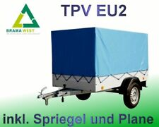 TPV EU2 PKW Anhänger Zentralachsanhänger Anhänger 750 kg ungebremst PKW